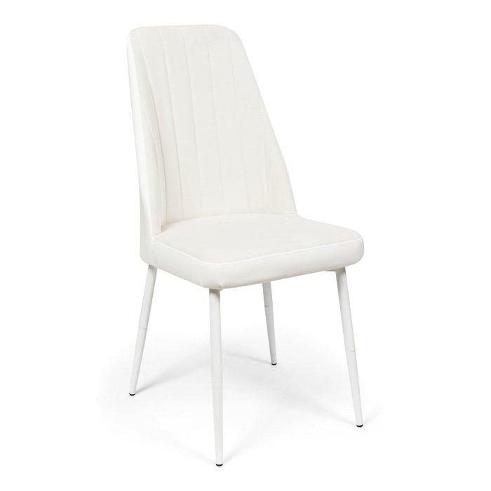 Кухонный стул Мокка Premium белового цвета
