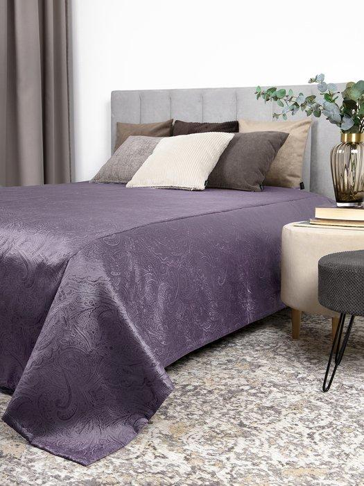 Покрывало Duo Glance Twiddle Viola 230x240 фиолетового цвета