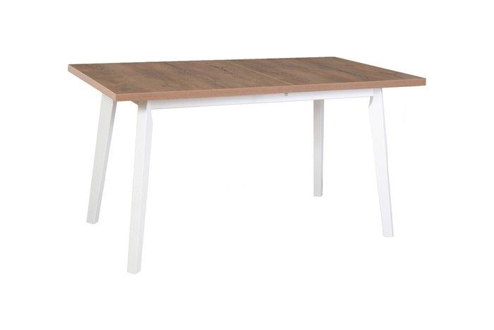 Стол обеденный раздвижной цвета дуб лефкас