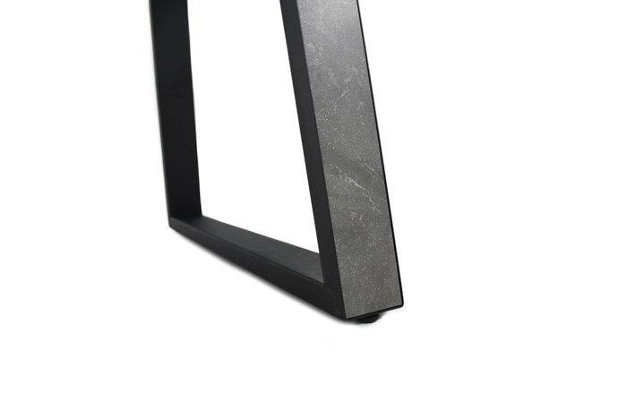 Обеденный раскладной стол Монако серого цвета