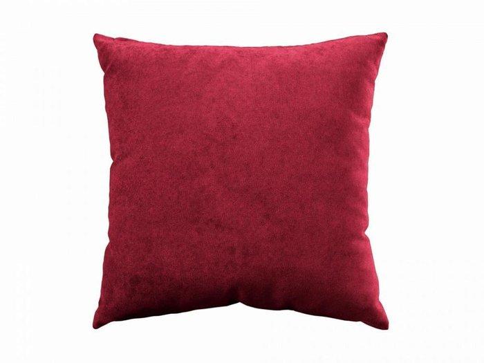Подушка Uglich бордового цвета