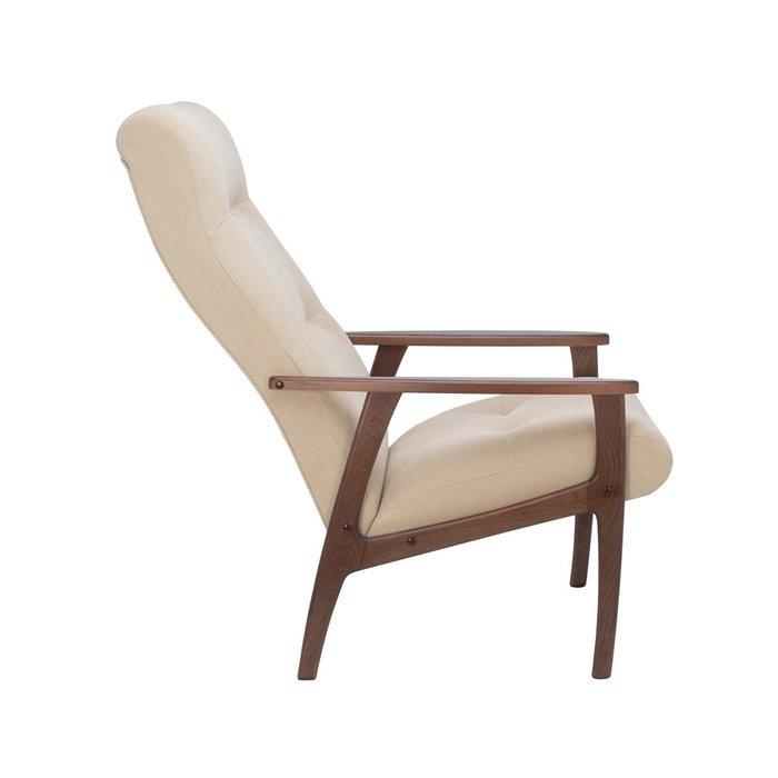 Кресло Remix бежевого цвета