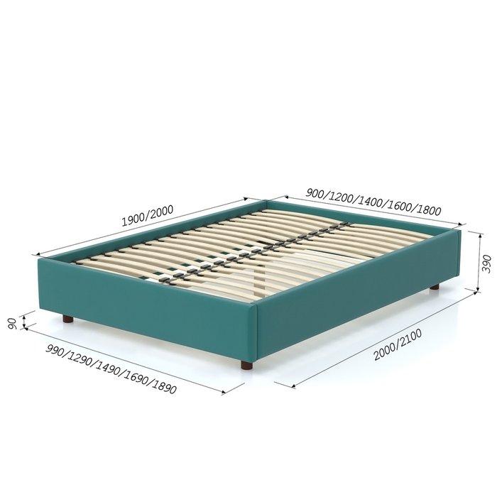 Кровать SleepBox 120x200 бирюзового цвета