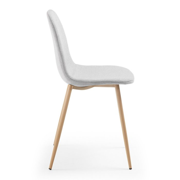 Обеденный стул Lissy светло-серого цвета