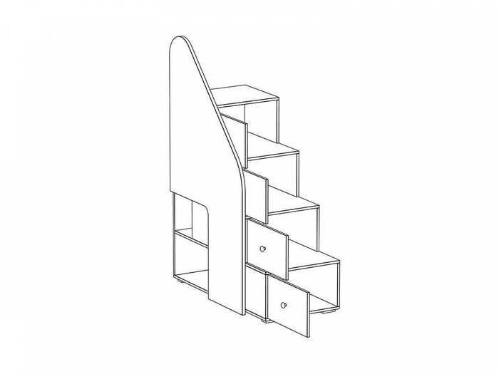 """Лестница с ограждением """"Play"""""""