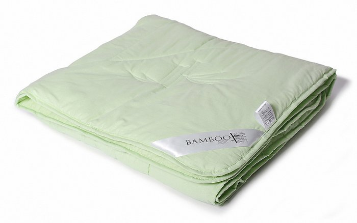 Одеяло Bamboo Air 200x220 с чехлом из сатина