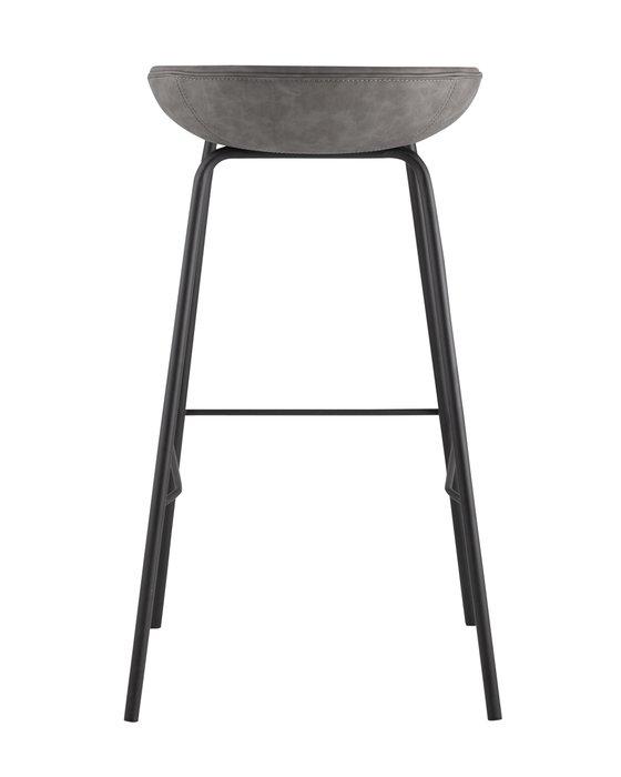 Барный стул Beetle Lite серого цвета