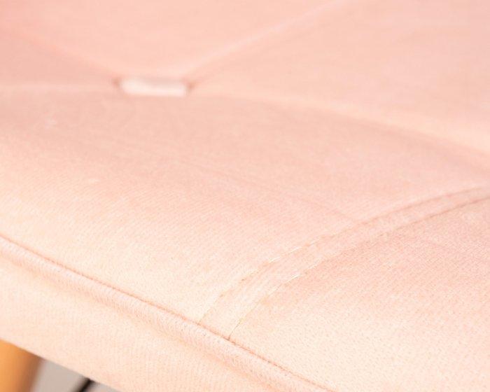 Стул обеденный Bennet пудрово-розового цвета