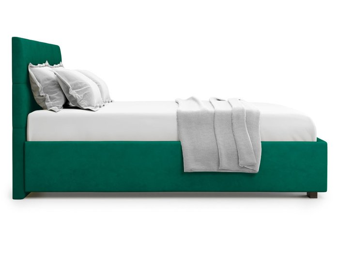 Кровать Garda 140х200 зеленого цвета с подъемным механизмом