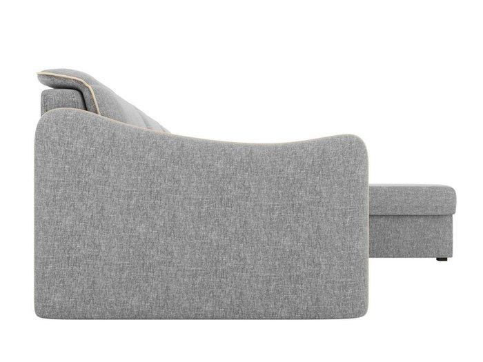 Угловой диван-кровать Скарлетт серого цвета