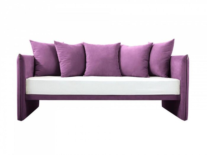Диван-кровать Milano пурпурного цвета