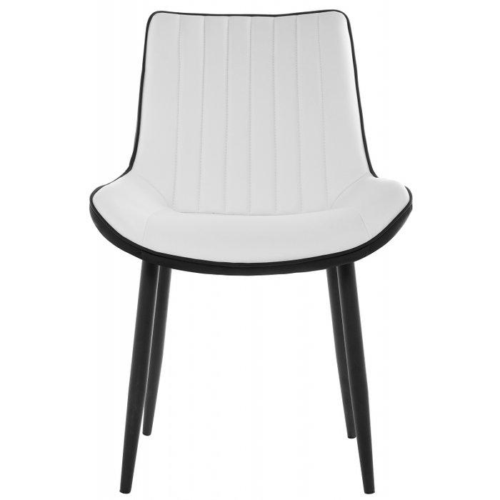 Обеденный стул Seda черно-белого цвета