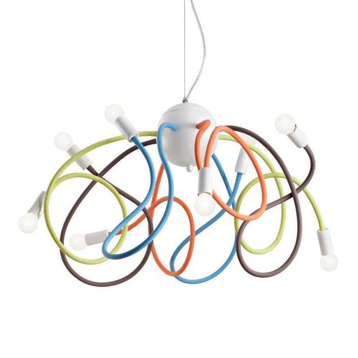 Подвесная люстра Ideal Lux Multiflex Color