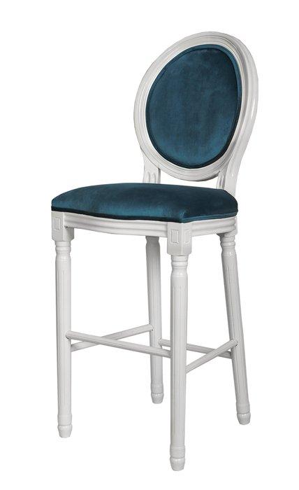 Барный стул Filon с синей обивкой
