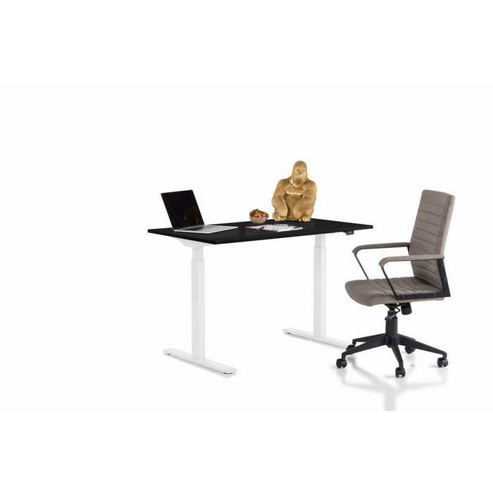 Стол офисный Smart черно-белого цвета