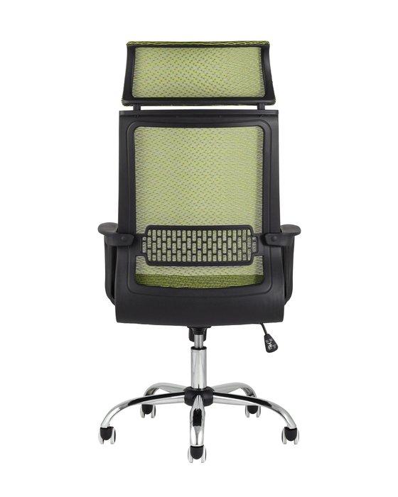 Кресло офисное Top Chairs Style зеленого цвета