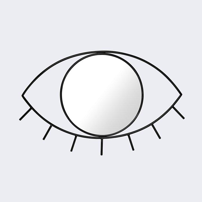 Зеркало настенное cyclops среднее черное
