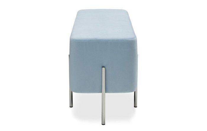 Банкетка Gatsby голубого цвета
