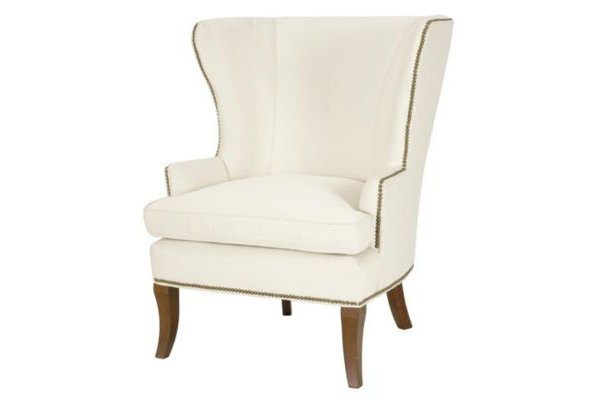 Кресло Perline белого цвета