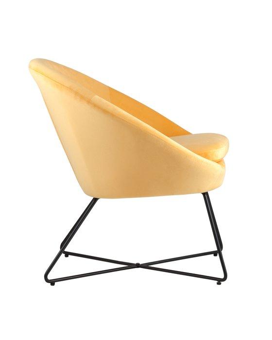 Кресло Колумбия оранжевого цвета