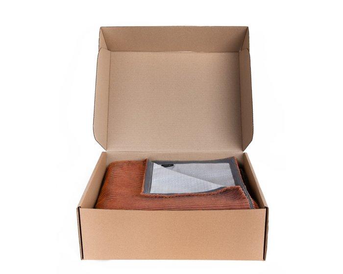 Покрывало Duo Cilium Clay 230x240 светло-коричневого цвета