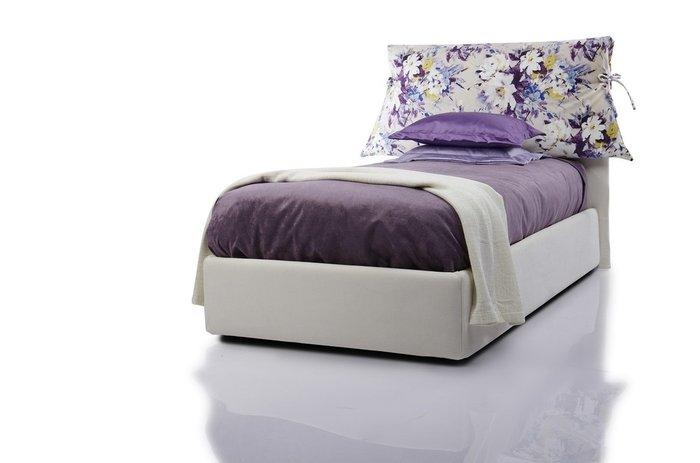 Кровать  Lounge 120х200 белого цвета