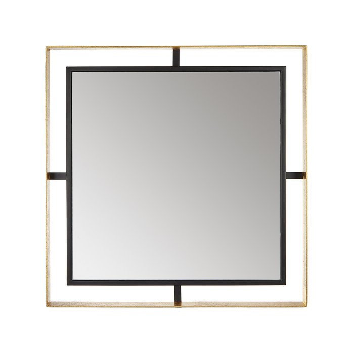 Зеркало Квадрум в стальной раме