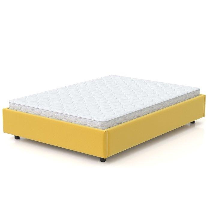Кровать SleepBox 90x200 желтого цвета
