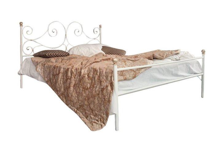 Кованая кровать Верона 1.4 с одной спинкой 140х200