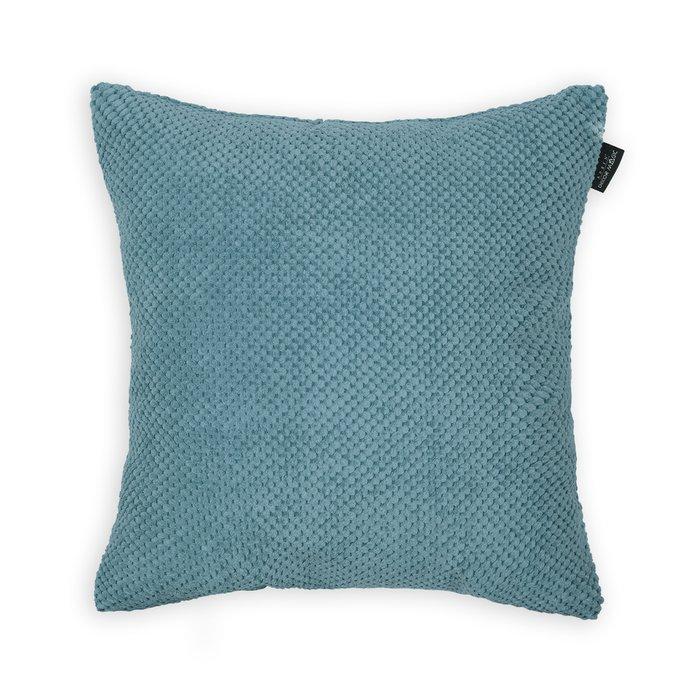 Декоративная подушка Citus Blue синего цвета