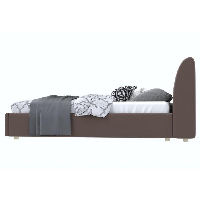 Кровать Бекка 120x200 коричневого цвета