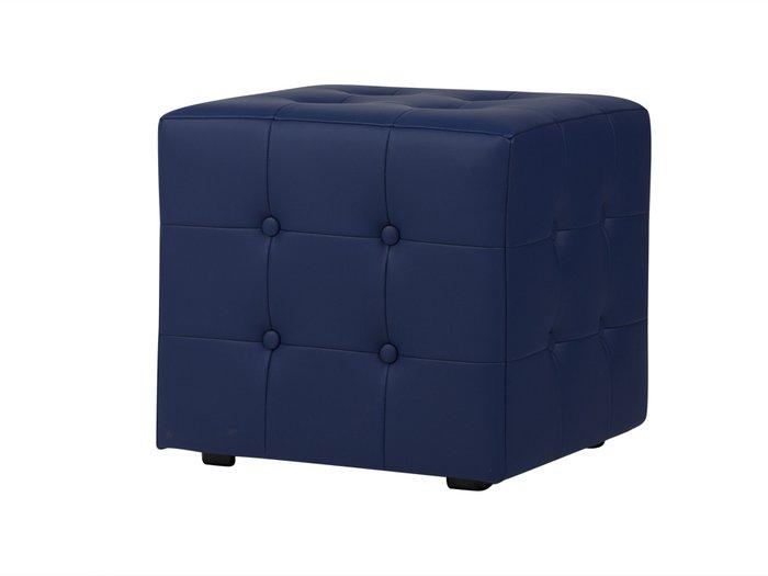 Пуф Rubik Plus темно-синего цвета