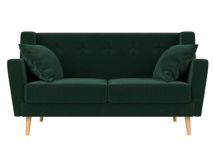 Диван Брайтон зеленого цвета
