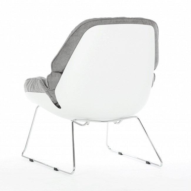Кресло Bay серого цвета
