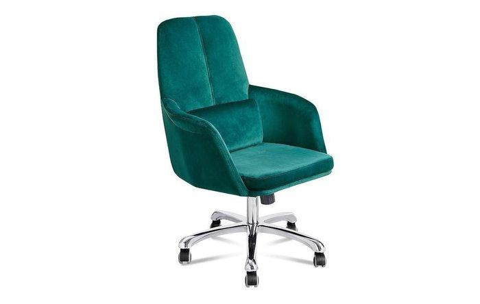 Кресло Meridian изумрудного цвета