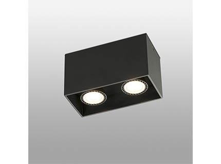 Светильник потолочный Tecto черного цвета