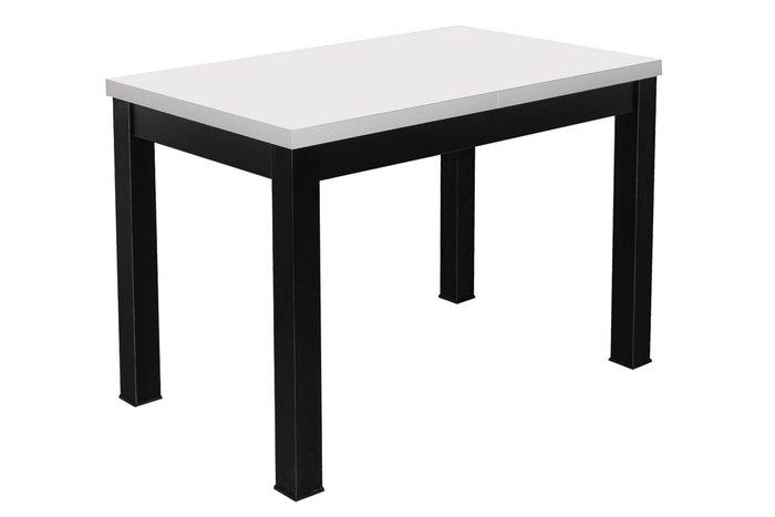 Стол раздвижной Black цвета белый мат