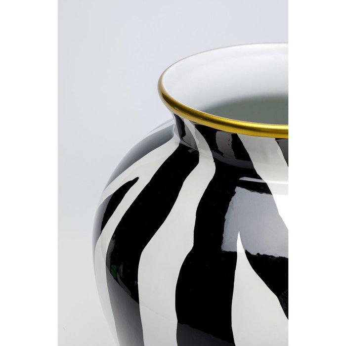 Ваза Zebra из фарфора