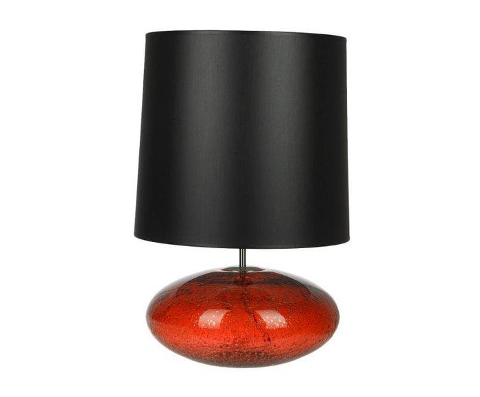 Настольная лампа Crisbase с черным абажуром