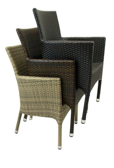 Кресло садовое Milano цвета табак
