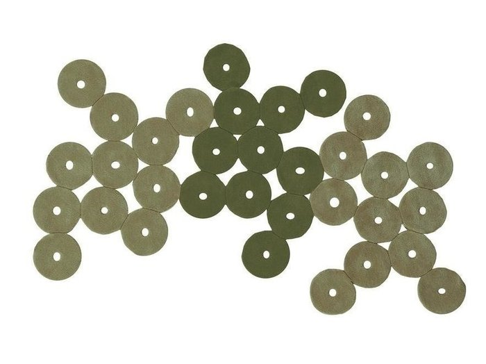 Ковер Funghi зелёный 70x140