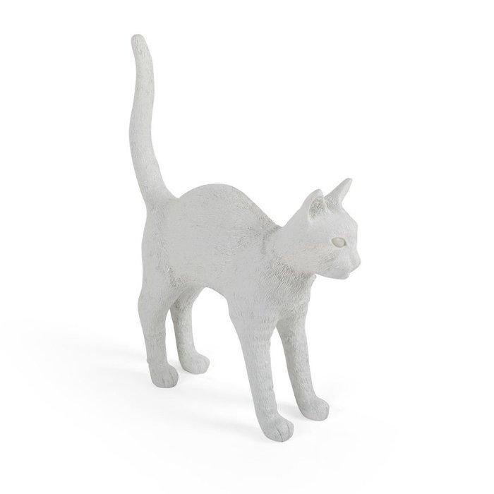 Настольная лампа Jobby The Cat White белого цвета