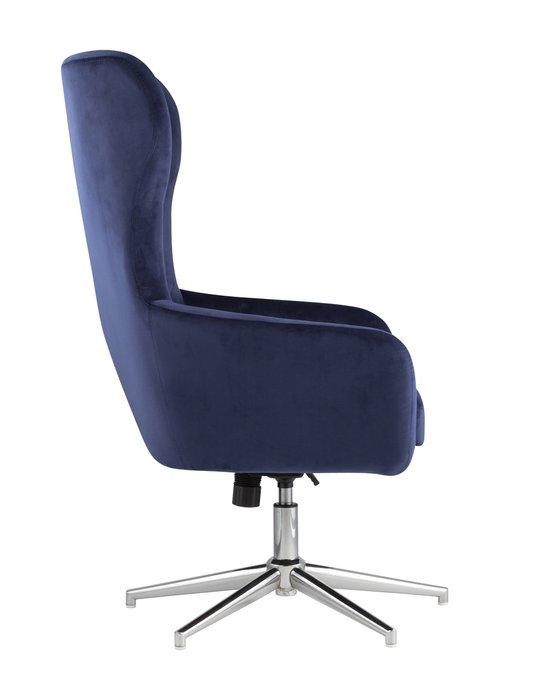 Кресло Артис синего цвета