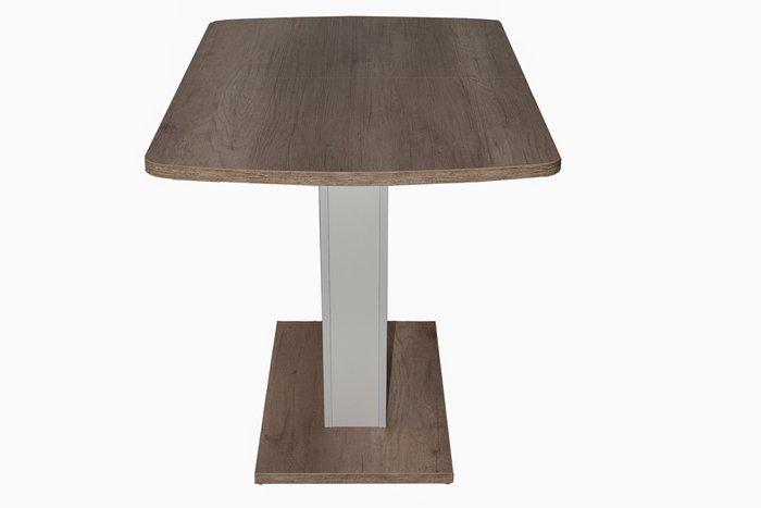 Стол обденный раздвижной Sheldon цвета дуб каньон