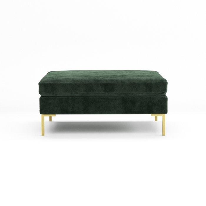 Банкетка Kona зеленого цвета