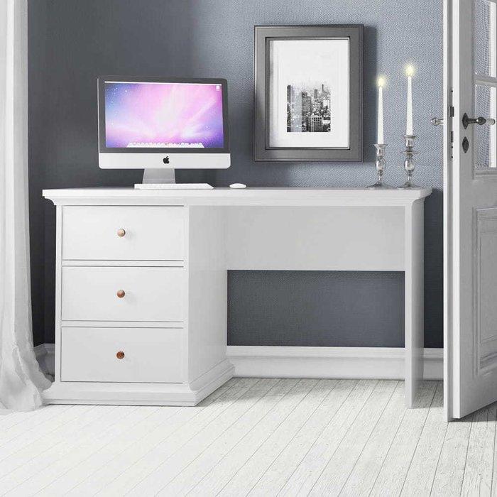 Письменный стол Шарли с тремя ящиками
