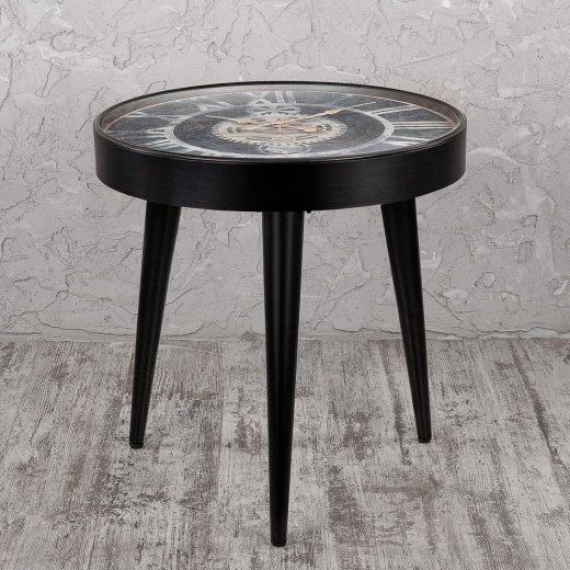 Журнальный столик с круглой столешницей