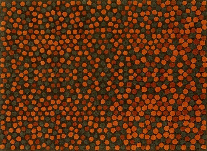Ковер Adok оранжевого цвета 170х240