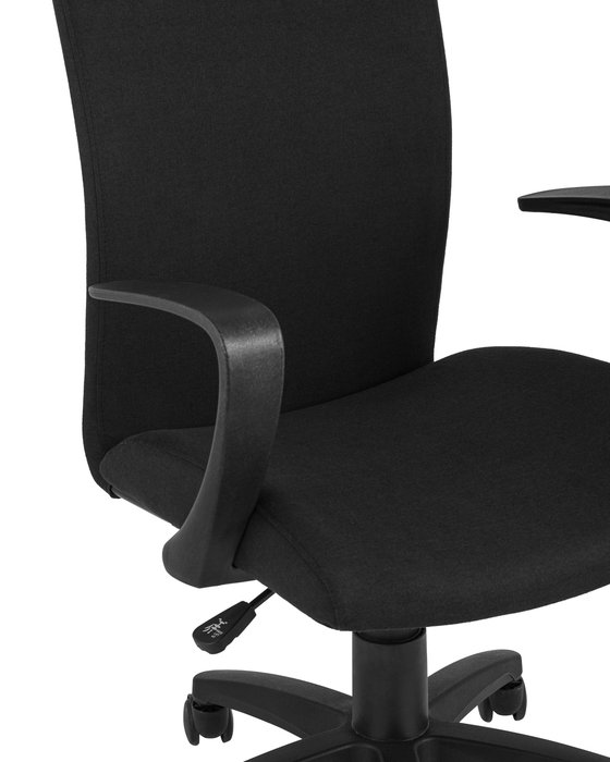 Кресло офисное Top Chairs черного цвета