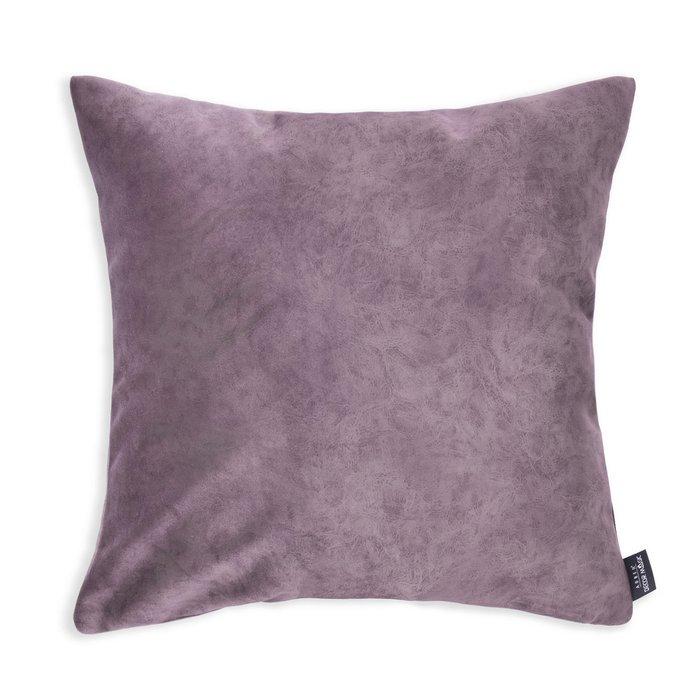 Декоративная подушка Goya dimrose фиолетового цвета